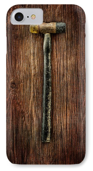 Tools On Wood 35 IPhone Case by YoPedro