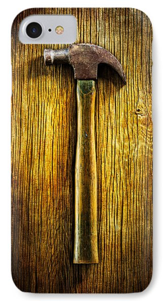 Tools On Wood 40 IPhone Case by YoPedro