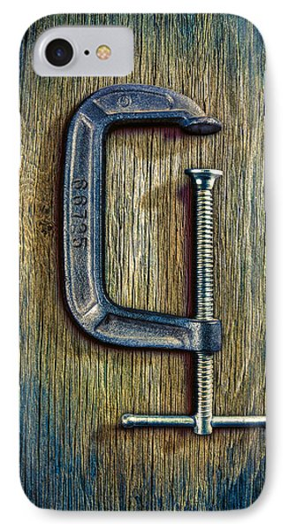 Tools On Wood 68 IPhone Case by YoPedro