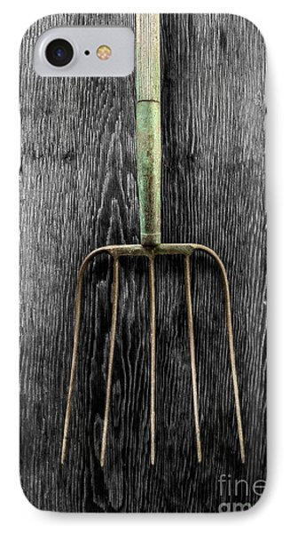 Tools On Wood 7 On Bw IPhone Case by YoPedro