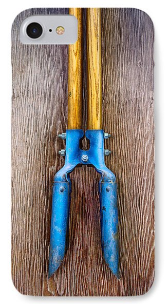 Tools On Wood 73 IPhone Case by YoPedro