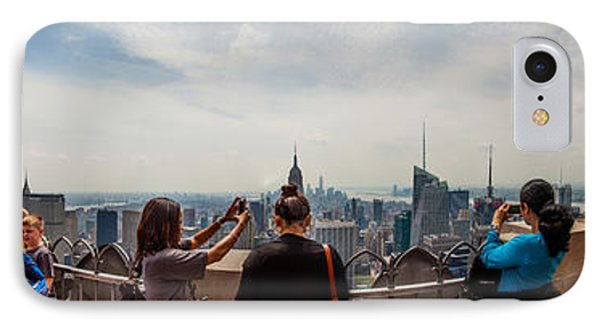 Top Of The Rock Experience IPhone Case by Az Jackson