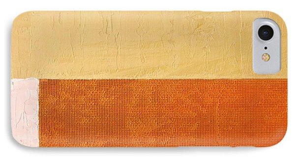 Topaz Pink Orange IPhone Case by Michelle Calkins