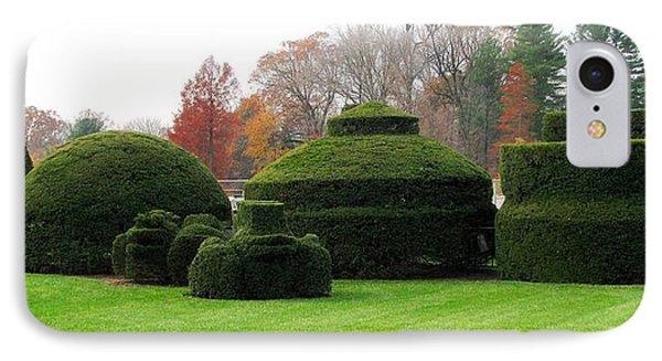 Topiary Garden Phone Case by Angela Davies