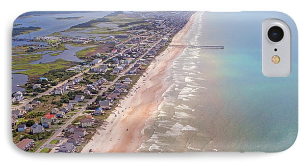 Topsail Buzz Surf City IPhone Case by Betsy Knapp
