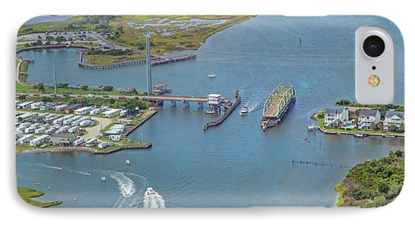 Topsail Island Top Of The Hour IPhone Case by Betsy Knapp