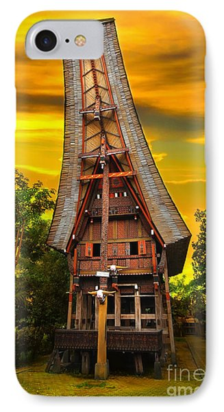 Toraja Architecture Phone Case by Charuhas Images