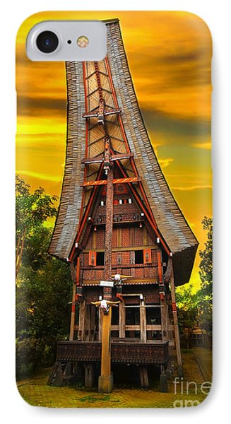 Toraja Architecture IPhone Case by Charuhas Images