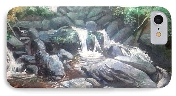 Torc Waterfall County Kerry Ireland IPhone Case by Paul Weerasekera