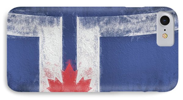 IPhone Case featuring the digital art Toronto Canada City Flag by JC Findley