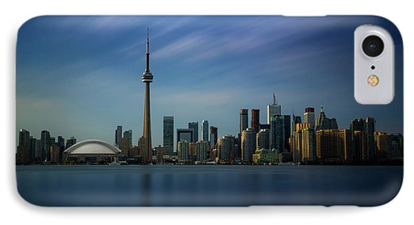 Toronto Cityscape IPhone Case by Ian Good