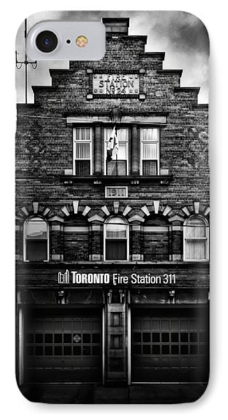 IPhone Case featuring the photograph Toronto Fire Station No 311 by Brian Carson