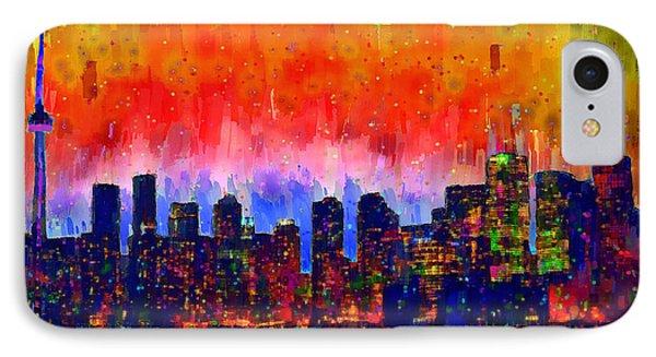 Toronto Skyline 18 - Da IPhone Case