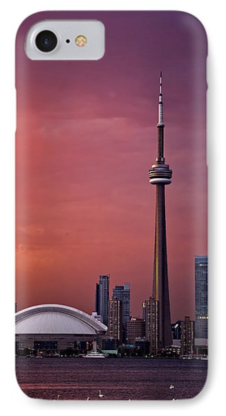 Toronto Sunset IPhone Case by Ian Good
