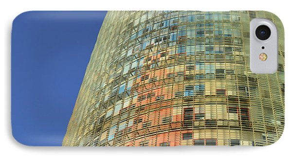 IPhone Case featuring the photograph Torre Agbar  by Marek Stepan