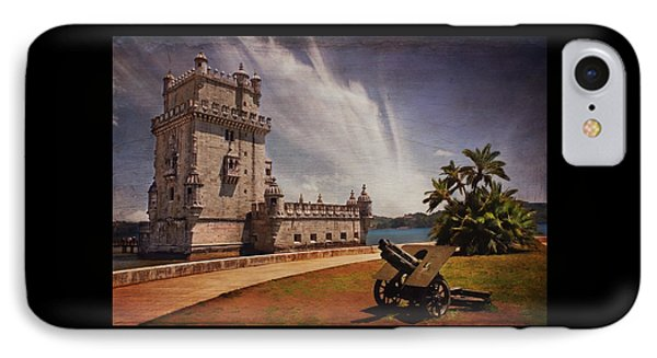Torre De Belem Lisbon IPhone Case by Carol Japp