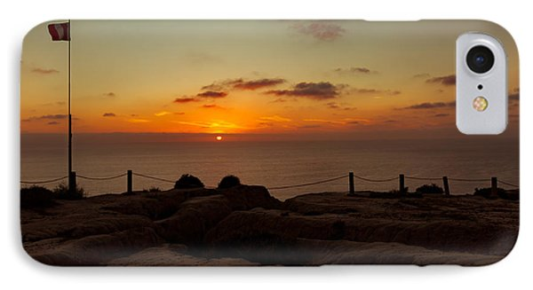 IPhone Case featuring the photograph Torrey Pine Glider Port Sunset by Jeremy McKay