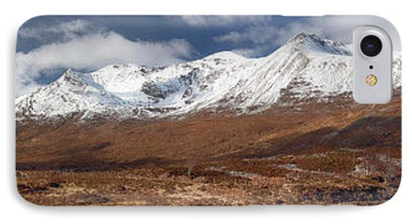 IPhone Case featuring the photograph Torridon Panorama by Grant Glendinning