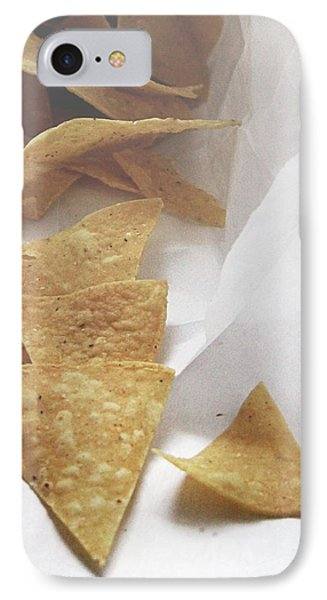 Tortilla Chips- Photo By Linda Woods IPhone Case by Linda Woods