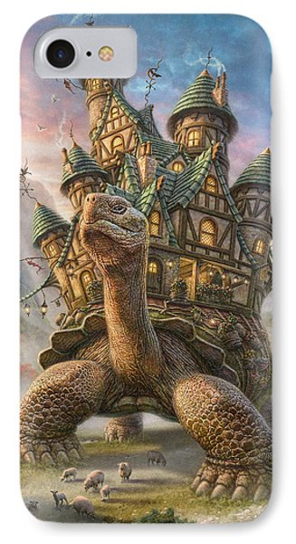 Landscapes iPhone 7 Case - Tortoise House by Phil Jaeger