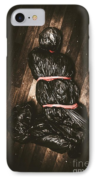 Torture Victim Tied And Bound IPhone Case by Jorgo Photography - Wall Art Gallery