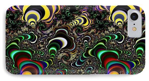 Torus Spirals IPhone Case by Ron Bissett