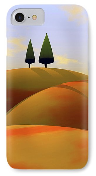Toscana 1 IPhone Case