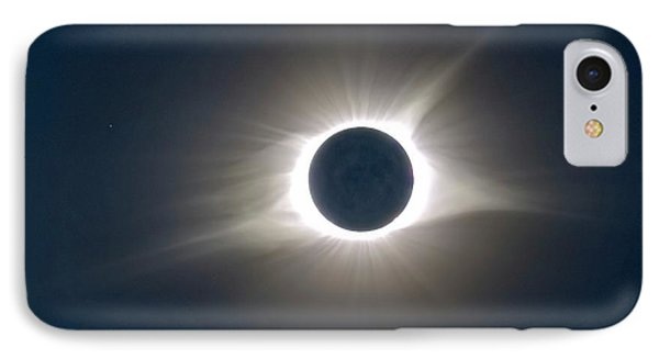 Total Solar Eclipse Hdr Phone Case by Jonathan Sabin