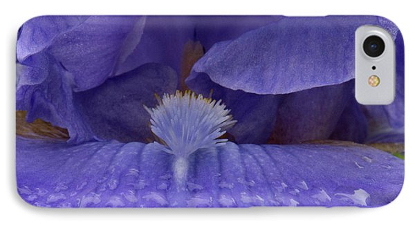 IPhone Case featuring the photograph Totally Blue Iris by Jean Noren