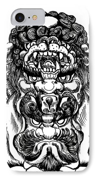 Totem IPhone Case by Shih Chang Yang