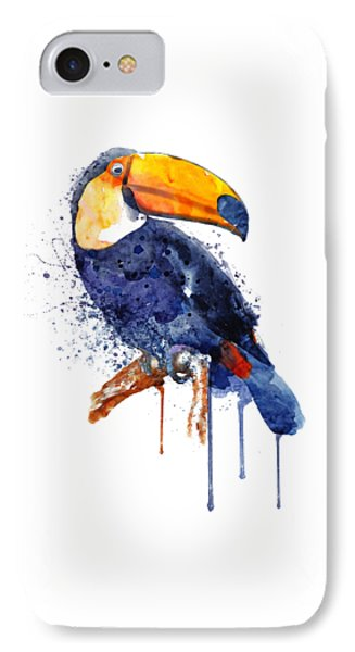Toucan iPhone 7 Case - Toucan by Marian Voicu