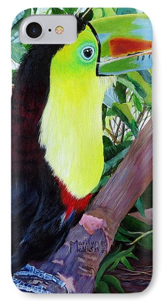 Toucan Portrait 2 IPhone Case