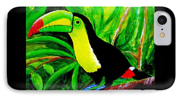 Toucan Sam IPhone Case by Anne Marie Brown