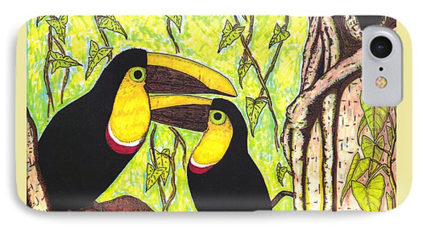 Toucans In Central Park IPhone Case