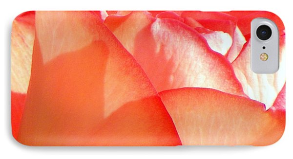 Touch Of Rose Phone Case by Karen Wiles