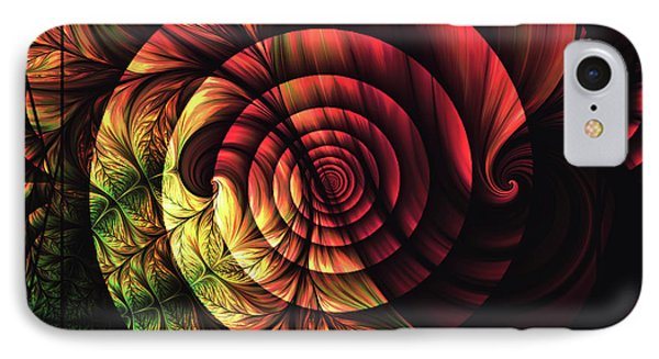Touch Of Sunshine Abstract Phone Case by Georgiana Romanovna