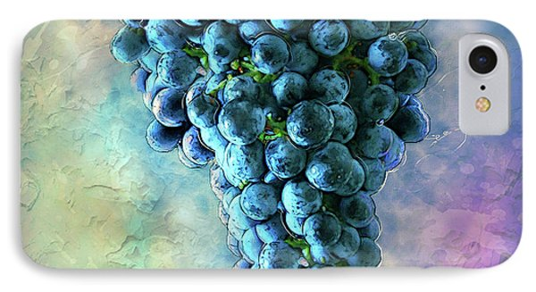 Touch Of The Grape 2 IPhone Case by Jack Zulli