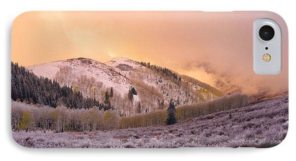 Touch Of Winter IPhone Case by Chad Dutson
