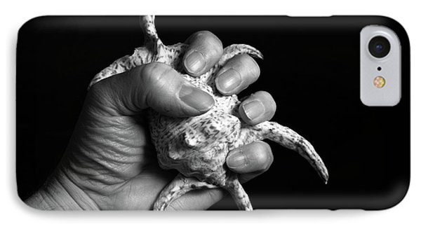 IPhone Case featuring the photograph Touch Series - Shells by Nicholas Burningham