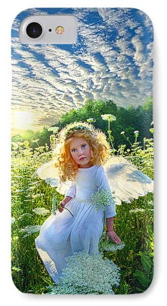 Touched By An Angel IPhone Case by Phil Koch