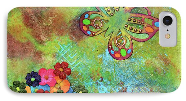Touched By Enchantment IPhone Case by Donna Blackhall