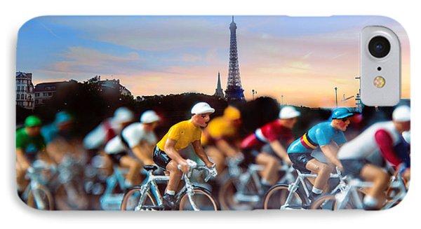 Tour De France IPhone Case by John Rivera