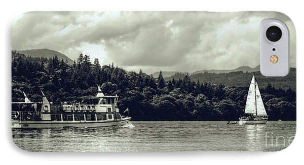 Touring The Lakes In Sepia IPhone Case