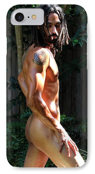 Towel Dropped IPhone Case by Robert D McBain