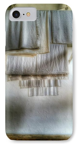 Towels And Sheets IPhone Case by Isabella F Abbie Shores FRSA