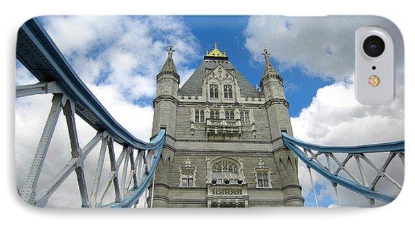 Tower Bridge 2 Phone Case by Madeline Ellis
