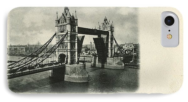 Tower Bridge Across The Thames In London IPhone Case by Gillham Studios