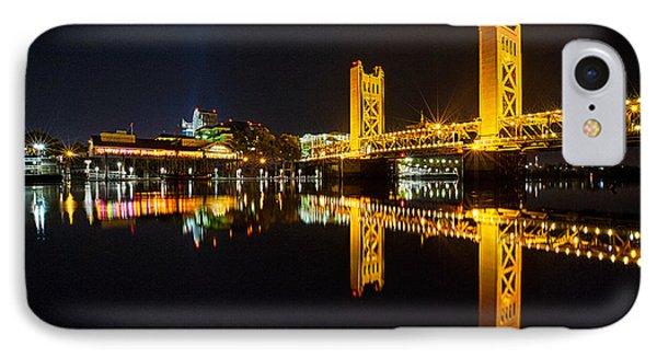 Tower Bridge Sacramento IPhone Case