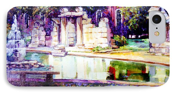 Tower Grove Park IPhone Case by Stan Esson