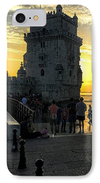 Tower Of Belem IPhone Case